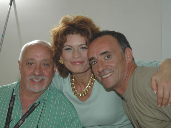 "L´ARTISTA – THE ARTIST"" - On the Set -with Bruno Melappioni (set designer) and director Simone Mariani (director)"