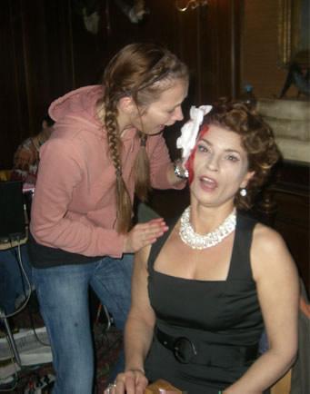 VERLIEBT IN BERLIN – Le Destin de Lisa - Time flies when you´re having fun – with make-up artist Nadine Aleardi