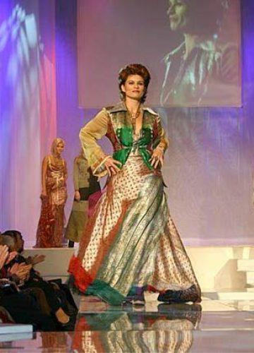 BALTIC FASHION AWARD 2006 - Gabrielle Scharnitzky dressed by NANNA KUCKUCK © Beryl Preuschmann