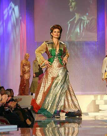 BALTIC FASHION AWARD 2006 - Gabrielle Scharnitzky dressed by NANNA KUCKUCK © Beryl Preuschmann